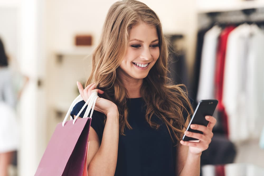 Shopping and on mobile
